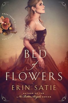 e-Book Cover Design Award Winner for June 2018 in Fiction | Bed of Flowers designed by James T. Egan of Bookfly Design. | TP: Such a beautiful cover! A winner at first sight. The colors are so amazingly combined and the typography is perfectly integrated into the image. Amazing! Just amazing!