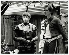 David Prowse AND  HARRISON FORD – Factoria Historica