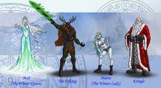 Dresden Files characters 5 by wildcard24.deviantart.com on @deviantART