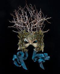 winter fae mask
