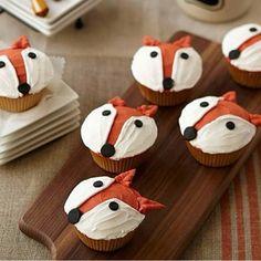 Fox cupcakes!