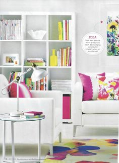 Dwell's luscious furniture and home accessories are all over Ideal Home's July issue.