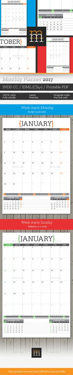 Monthly Planner   Download Monthly Planner And Planners