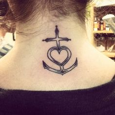 0c438e42a6b2a My new tattoo!! The symbol stands for faith, hope and love. Anchor