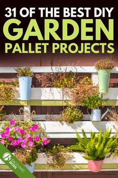 Wood pallets are easy to come by and they can be used to create almost anything. Here are a few of our favorite pallet garden ideas to inspire you. Planter Boxes, Planters, Planter Ideas, Pallets Garden, Wood Pallets, White Barn, New Thought, Pallet Projects, Backyards