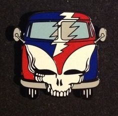 Grateful Dead - Steal Your VW Bus Collectible Pin