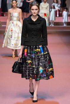 Dolce & Gabbana. Colección otoño-invierno 2015/2016.Milan