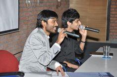 Anirudh Ravichander with Dhanush
