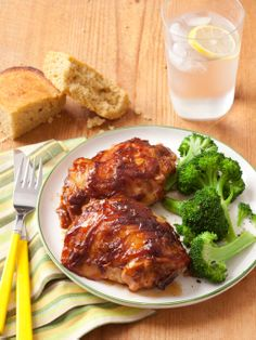 Crock Pot recipes: Chicken with Peanut-Butter Barbecue Sauce