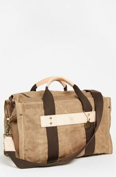 6c89ec766bb9 Will Leather Goods Canvas Duffel Bag available at  Nordstrom Best Canvas