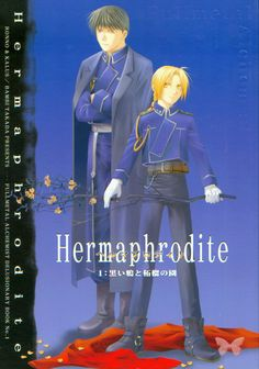 Product details: Roy x Ed Item Title: Hermaphrodite 1 Produced by: Ronno & Kalus (Takada Bambi) Format: Doujinshi Language: Japanese Page Count: 58 Size: B5 Date Produced: 2004.03.21 Condition: Preown