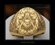 I always thought that having a skull on the ring is giving off the wrong impression. Life is short though, and it's a very good symbol.