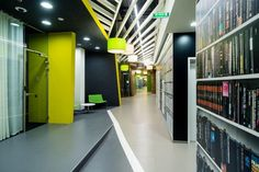 Yandex office 3 by za bor architects, St. Petersburg office design
