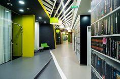 Yandex office 3 by za bor architects, St. Petersburg office design