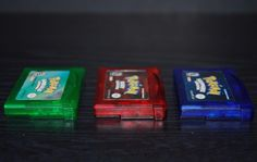 Used Pokemon Gameboy Advance SP Game Lot Emerald Sapphire & Ruby Version Deals