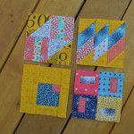 May Book Club: the last four sampler blocks