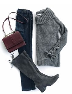 962d6c02019 How to wear tall boots with skinny jeans. It s time to drag your boots from  the back of your closet   dust them off—boot season has arrived!