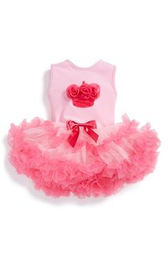 Free shipping and returns on Popatu 'Birthday' Sleeveless Tutu Dress (Baby Girls) at Nordstrom.com. A scrumptious birthday-cake embellishment stands out on the bodice of a dreamy ballerina dress featuring a two-tone tulle skirt and built-in bodysuit.