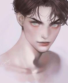Anime Crying, Sad Anime, I Love Anime, Anime Guys, Anime Art, Fantasy Art Men, Boy Drawing, Drawing Exercises, Handsome Anime