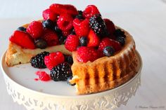 Madame Xícaras: Tarte de Chocolate Branco com Frutos Vermelhos