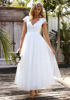 Mia Solano ML9617 A-Line Wedding Dress #weddingdress