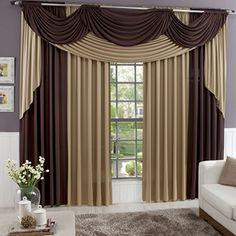 cortinas modernas - Pesquisa Google                                                                                                                                                                                 Más