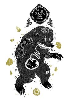 AGRY BEAR on Behance
