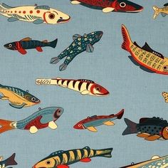 Japanese Fish Print