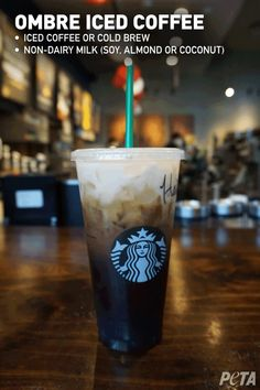Your Guide to Vegan Starbucks Drinks (March 2019 Vegan Starbucks: Your Guide to Animal-Free Drink Options Dairy Free Starbucks Drinks, Vegan Starbucks Food, Starbucks Menu, Starbucks Recipes, Starbucks Locations, Beef Salad, Dairy Free Options, Non Alcoholic Drinks, Beverages