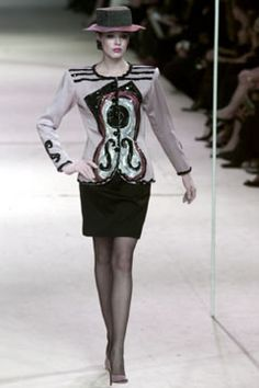 Saint Laurent   Spring 2002 Couture Collection   Style.com - Picasso