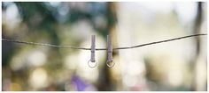 #Eheringe an #Wäscheleine • Rings on a clothes line