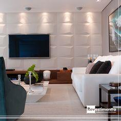 A arquiteta Consuelo Jorge escolheu o Prisma branco como peça chave para o ambiente montado.