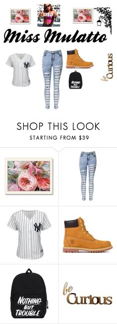"""""""Miss Mulatto"""" by hazel-30 ❤ liked on Polyvore featuring Americanflat, Majestic, Timberland, Letter2Word, women's clothing, women, female, woman, misses and juniors"""