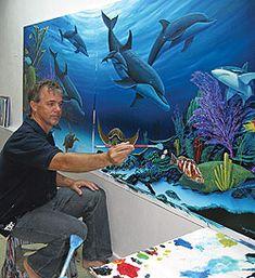 www.wylandsartstudio.com | Painting the Wyland Way 2: Sea Turtle Rising | WDSE · WRPT - PBS 8 ...