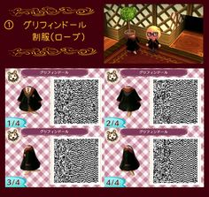 Animal Crossing: New Leaf: ULTIMATE HARRY POTTER OUTFITS. If there are a couple of Harry Potter fans out there I have found a Gryffindor Dress to you guys :D Without scarf