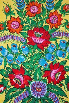 Floral Design, Zalipie, Poland | Flickr - Photo Sharing!