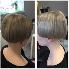 Bowlbob. Is it a bowlcut or a bobline? Anyway I like this hairstyle so I took this picture with me to the salon and asked the stylist to cut my hair this way.