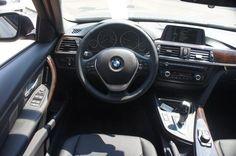 2014 BMW 3 Series in Glacier Silver over Black Leather w/ Burl Walnut Trim. Cold Weather Pkg, Premium Pkg #27218 #bmwtowson #bmw3series