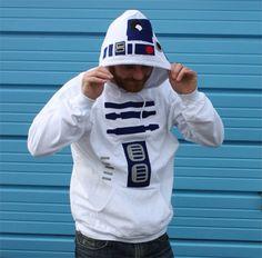Star Wars Inspired R2D2 Hoodie