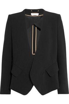Chloé - Iconic Crepe Blazer - Black - FR
