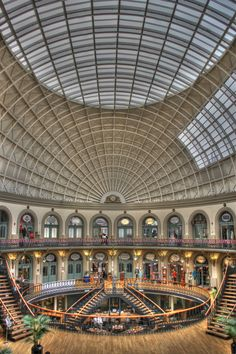 Corn Exchange, Leeds by Darren Miller, via Leeds Map, Leeds Corn Exchange, Uni Life, West Yorkshire, Out Of This World, Town Hall, Days Out, Building Design, United Kingdom