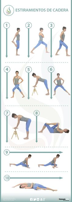 10 estiramientos para cuidar tus caderas y sentirte mejor