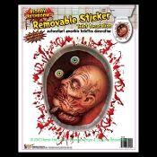Haunted House Horror Prop CREEPY CLING Halloween Decoration-BLOODY EYES EYEBALLS