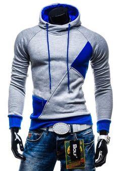 BOLF Herren Kapuzenpullover Sweatshirt Sweatjacke Hoodie Pullover 3411
