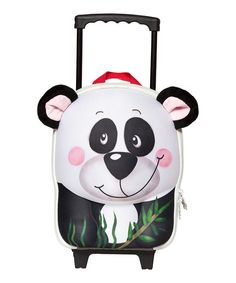 We don't want Edinburgh Zoo to feel less special or anything, but China gave us a panda too. And ours can hold things.Wildpacks' 3D designs turn travelling into your little one's very own safari adventure! Water resistant to withstand any weather, with an interior mesh pocket to keep their essentials safe, this trolley bag is perfect for heading off on th...