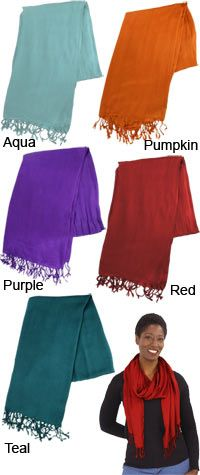 Softie for Fair Trade Scarf at The Animal Rescue Site: Blue or Purple Created to help women worldwide gain economic security for themselves and their families by earning fair wages for their handiwork,