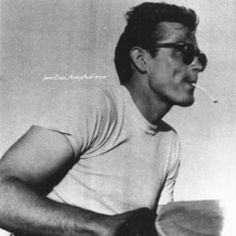 James Dean on the set of Rebel Without a Cause. #jamesdean #rebelwithoutacause #rebel #americanicon #borncool #cool #styleicon #icon #vintage #50s #1950s #legendsneverdie #legend #smoking #classicmovies #gorgeous #cute #oldhollywood #awesome #foreveryoung #love #americanlegend #legendsneverdie #legend #goldenhollywood #classichollywood