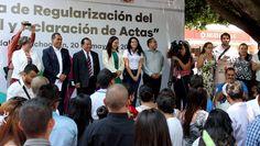 Continúa la Campaña de Regularización del Estado Civil y Aclaración de Actas por parte de la Secretaría de Gobierno a través de la Dirección del Registro Civil, en esta ocasión ...