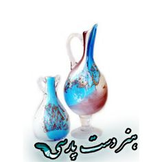 The glass vase from iran  Email:p.handicraft@yahoo.com