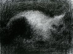 "Seurat ""The Cat"""